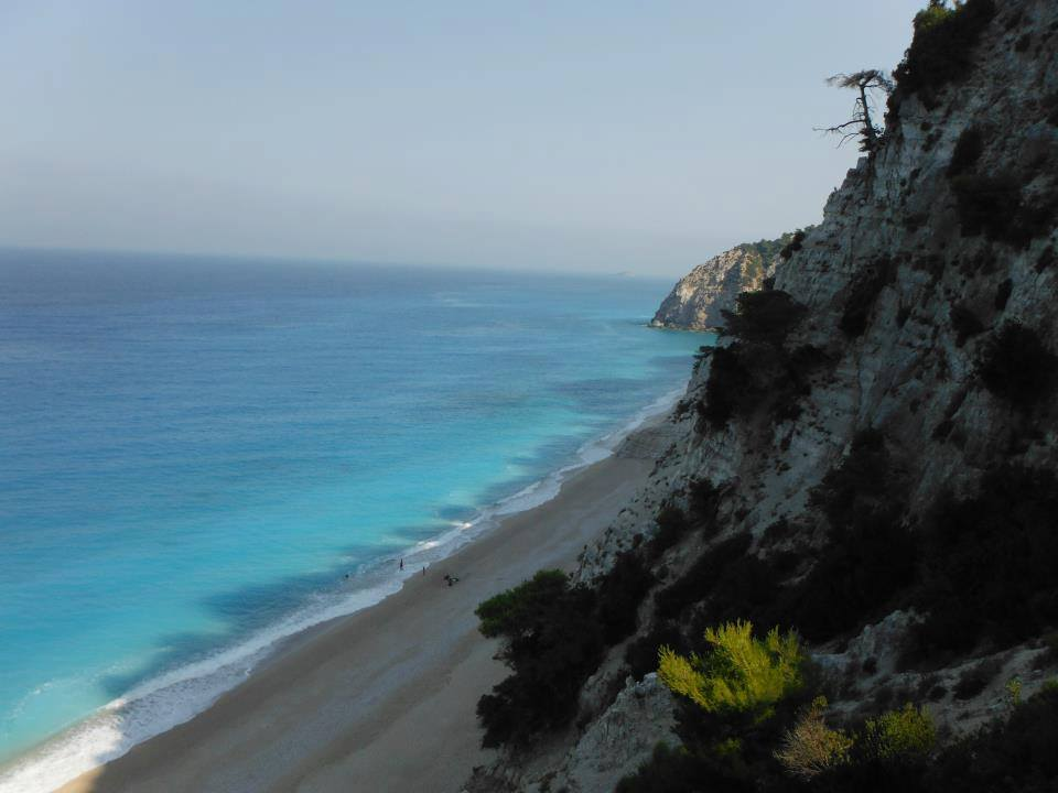 My Lefkada and her turquoise waters