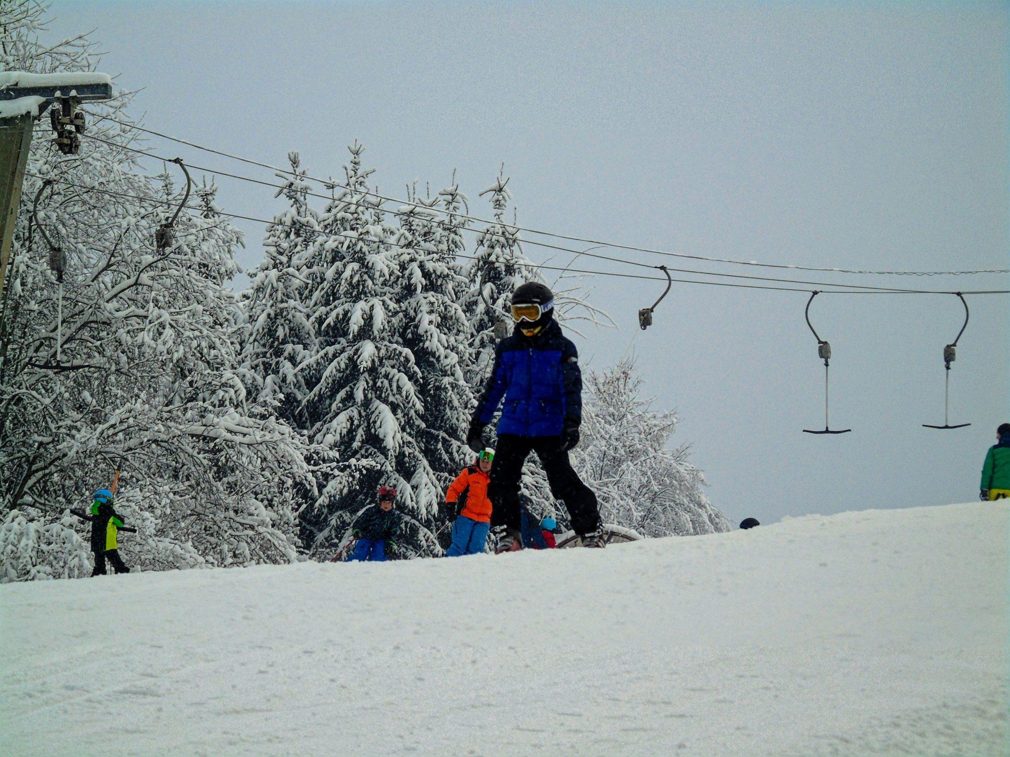 Prima oprire la ski pe 2019: Băile Homorod